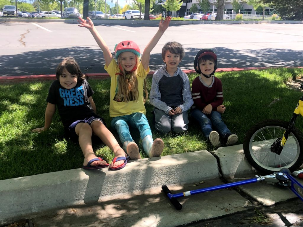 Summer Tuesdays with the Cousins: Bikes!