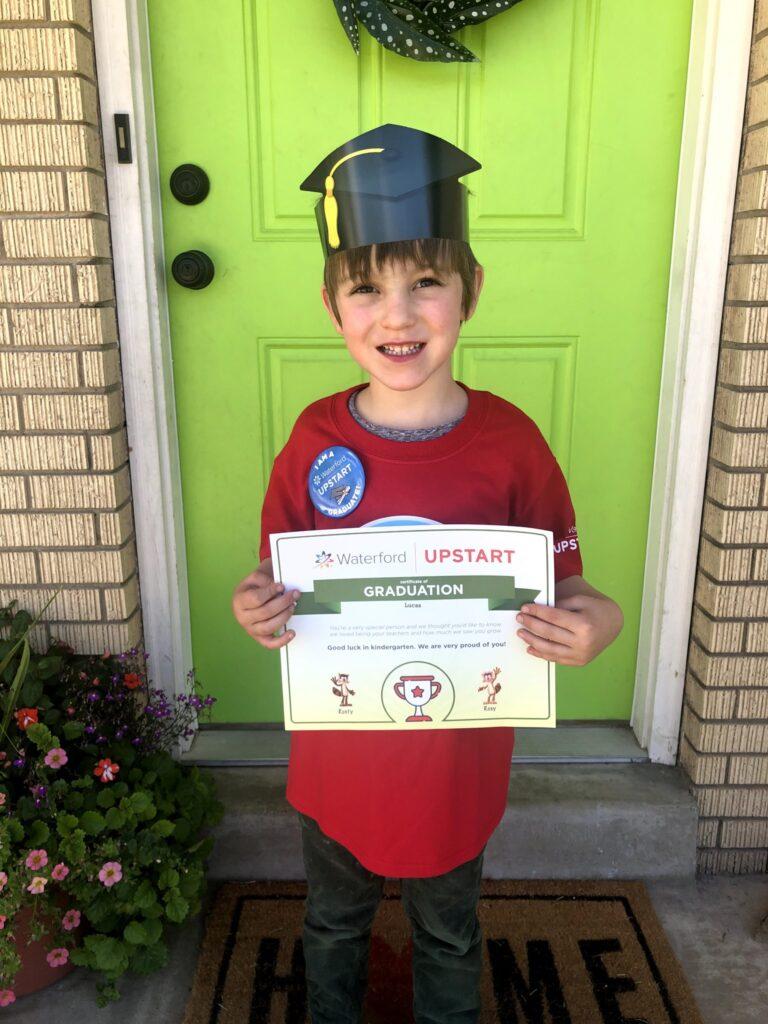 Lucas's Preschool Graduation: Upstart!