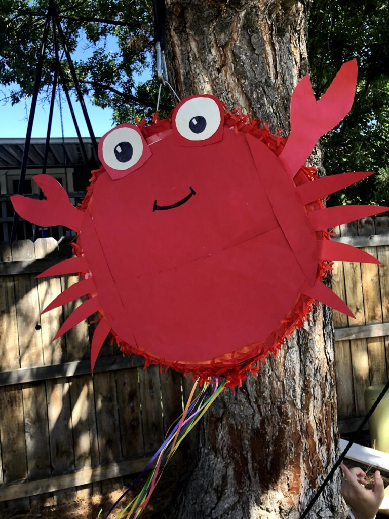 Lucas's 5th Birthday: Pinata, Reddoch's, and Malia Visit