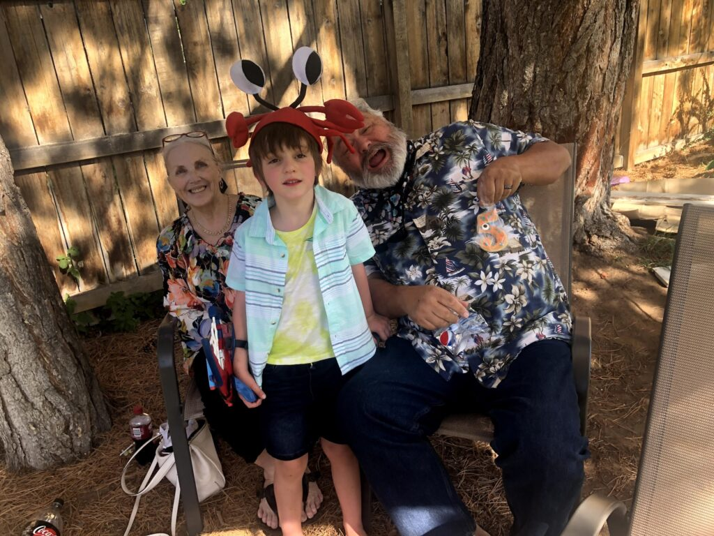 Lucas's 5th Birthday: Pool Party and Grandparents Hite