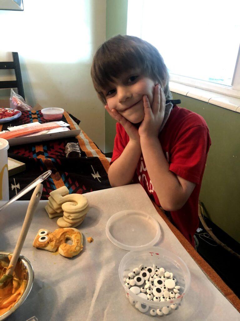 Lucas's Birthday: #5 Cookies