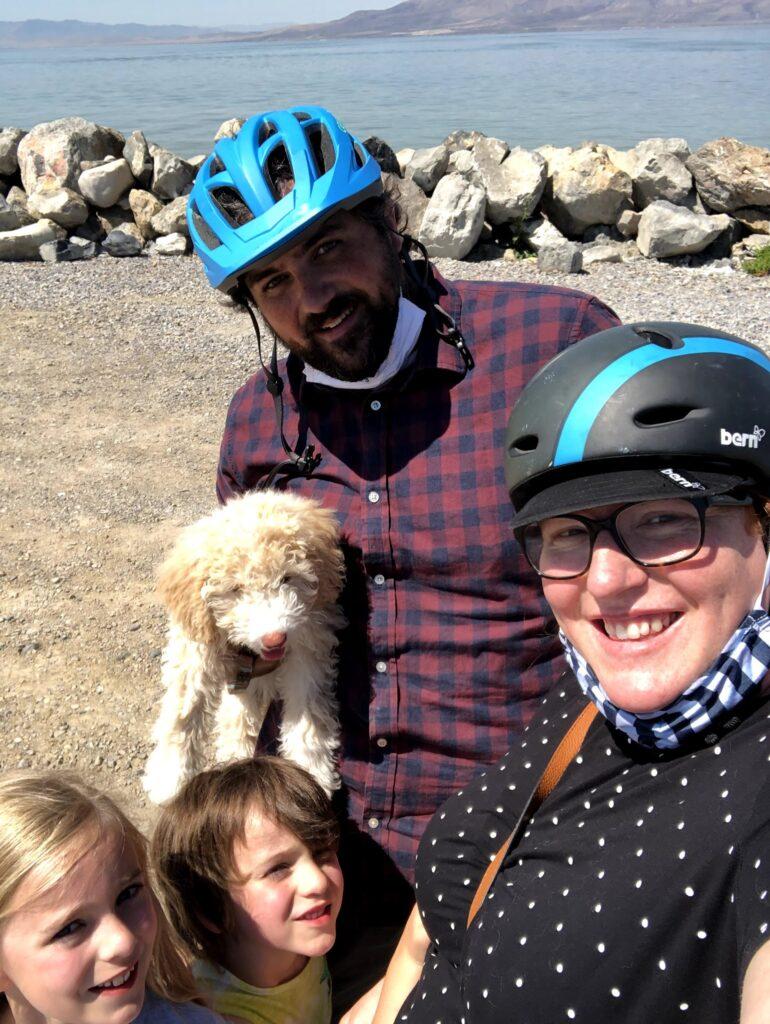 Karl's Birthday Week: Bike Ride to the Lake