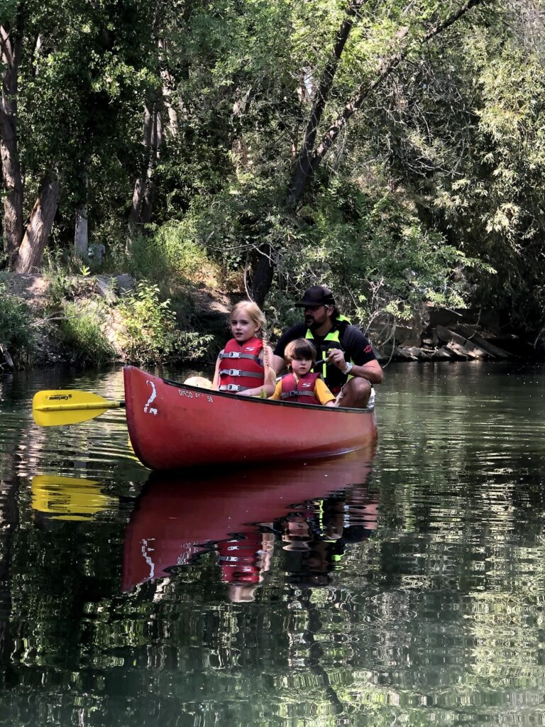 Kayaking and Canoeing with the Kids