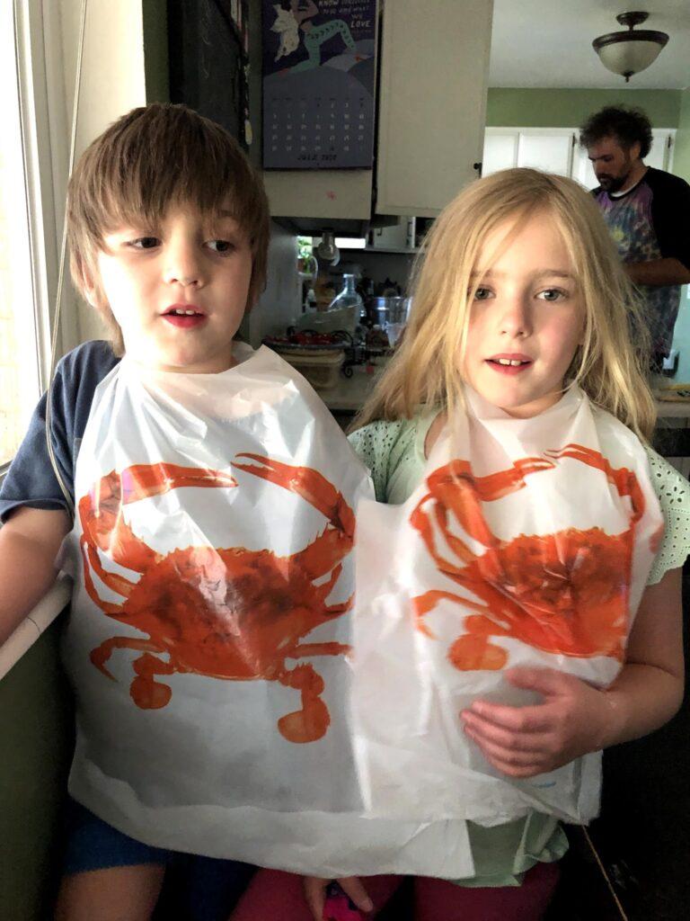 Crab Dinner for Lucas's Birthday