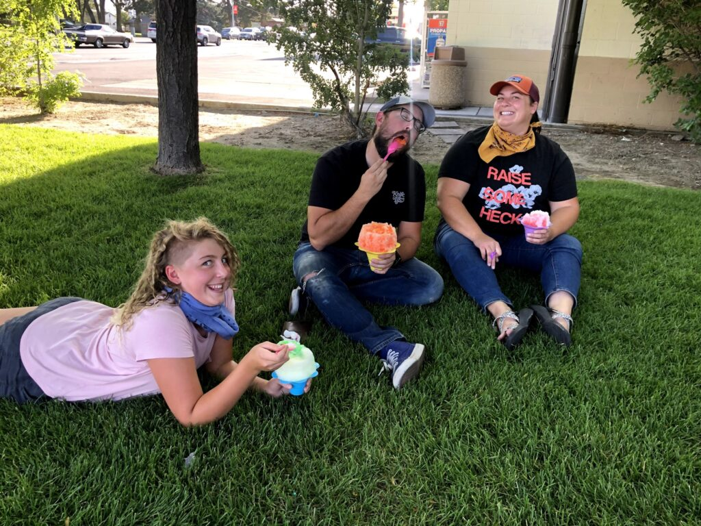 The Whitmores: Perms and Snow Cones