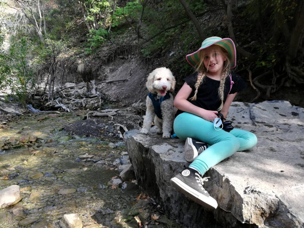 Mirah and Karl Go on a Hike