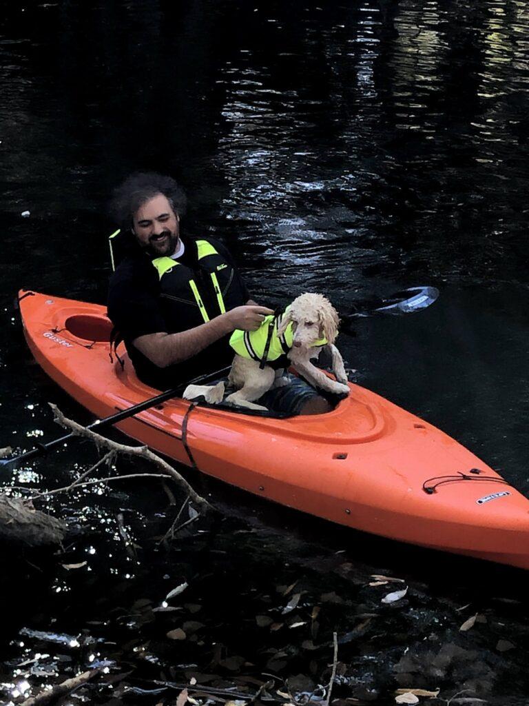 Halloween 2020: Kayaking with Luna