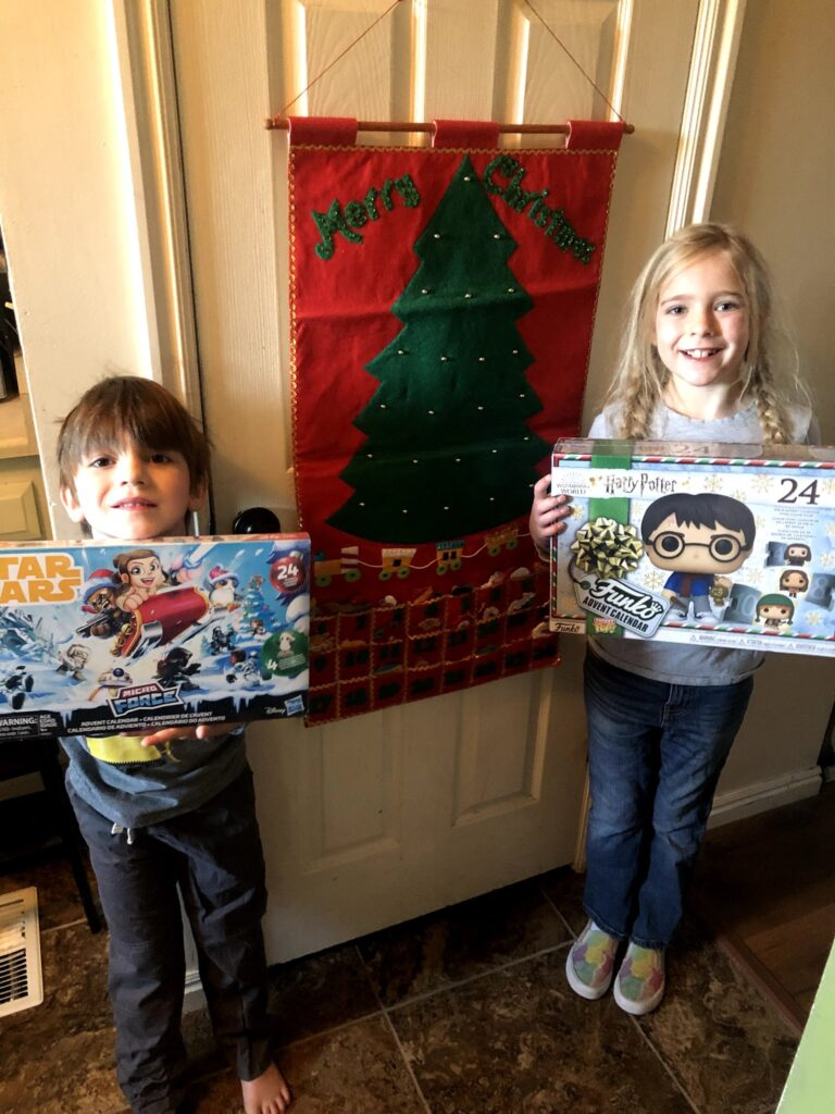 2020 Advent Calendars: Harry Potter and Star Wars