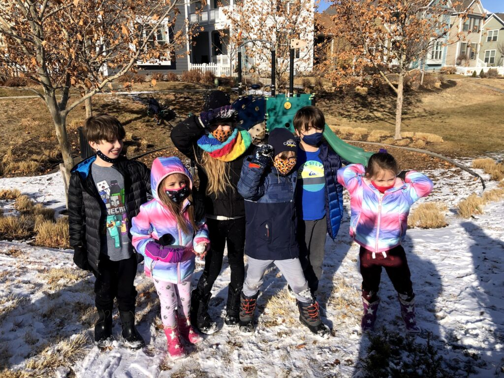 Snow Day with Cousins!
