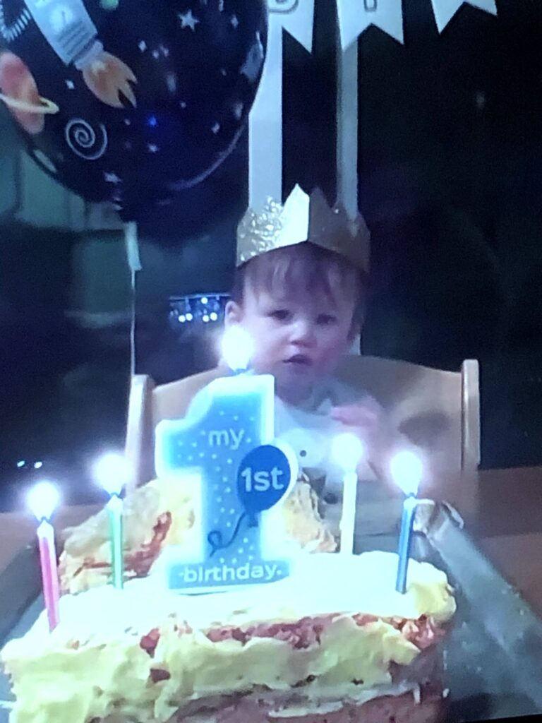 Simon's 1st Birthday