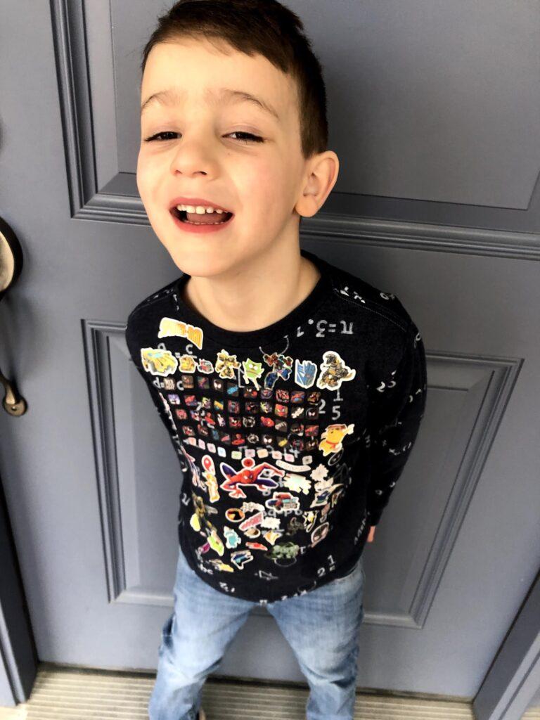 Lucas's 100th Day of Kindergarten